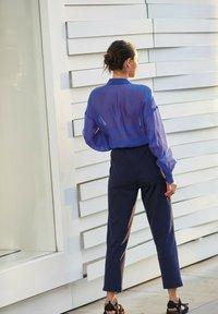 Next - Button-down blouse - blue-grey - 2