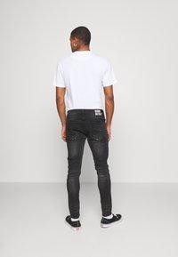 Alessandro Zavetti - VENICE SUPERSLIM - Jeans Skinny Fit - black wash - 2