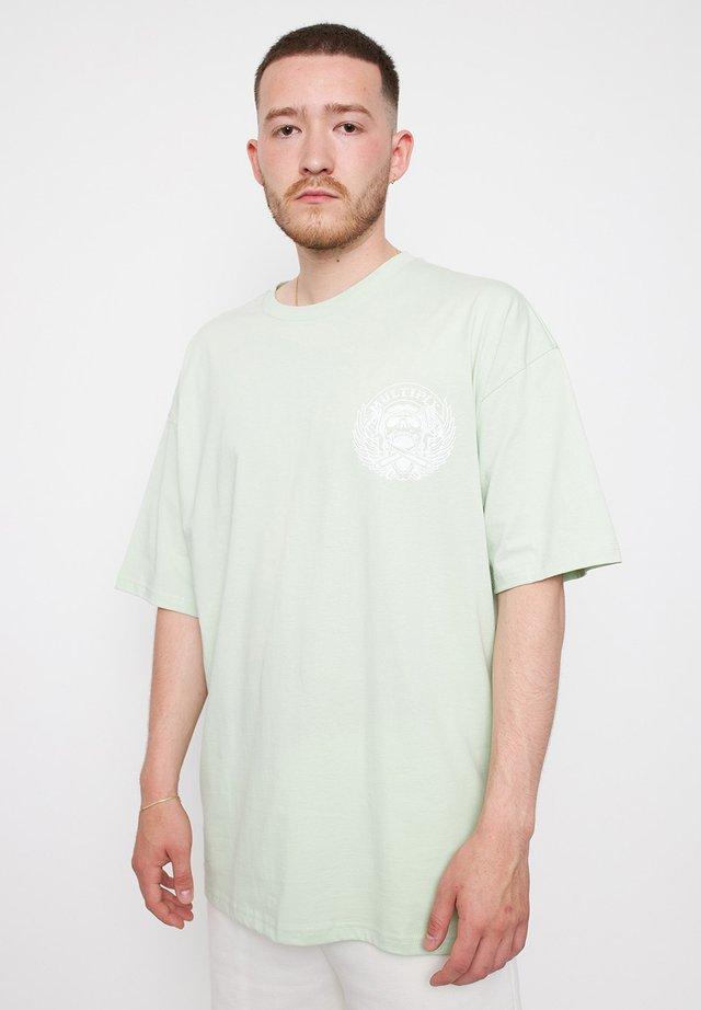 BIKE - T-shirt print - mint