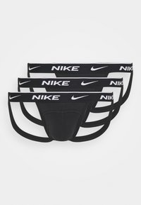 Nike Underwear - JOCK STRAP 3PK COTTON STRETCH - Slip - black - 0