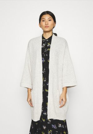 KABITTEN - Cardigan - light grey melange