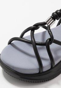 Sportmax - DIRETTA - Sandalias con plataforma - nero - 5