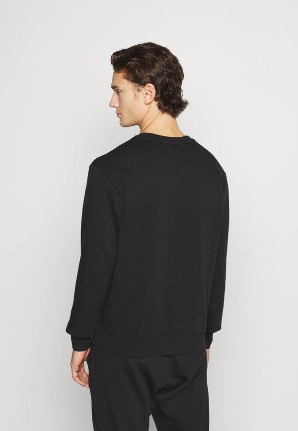 Nike Sportswear CREW - Bluza - black/gold foil/czarny Odzież Męska WXOA