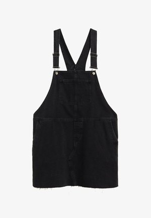 OLGA - Denim dress - black denim