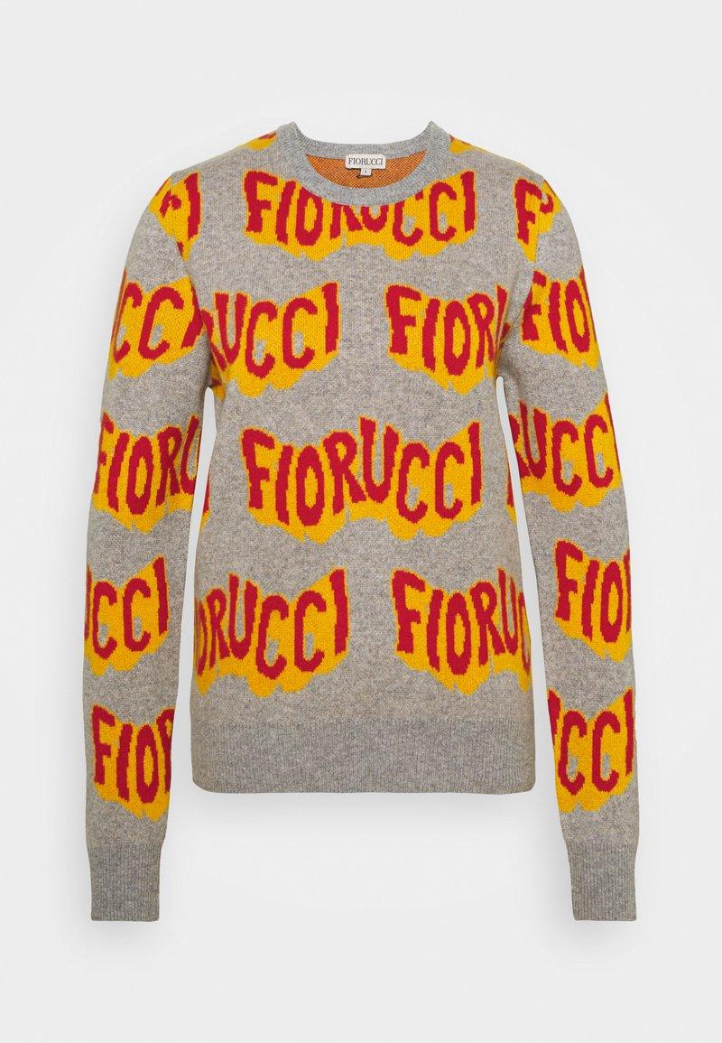 Fiorucci - WAVY LOGO  - Maglione - grey