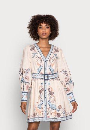 VALERIA DRESS - Shirt dress - ceramic