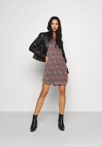 JDY - JDYFLORA DRESS  - Day dress - black - 1