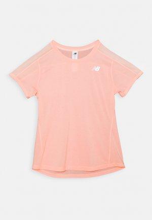 Camiseta básica - peach