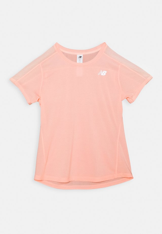 T-shirt - bas - peach