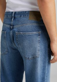 Bershka - Straight leg jeans - dark blue - 3