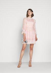 Needle & Thread - PATCHWORK DRESS - Cocktail dress / Party dress - ballet slipper/pink - 1