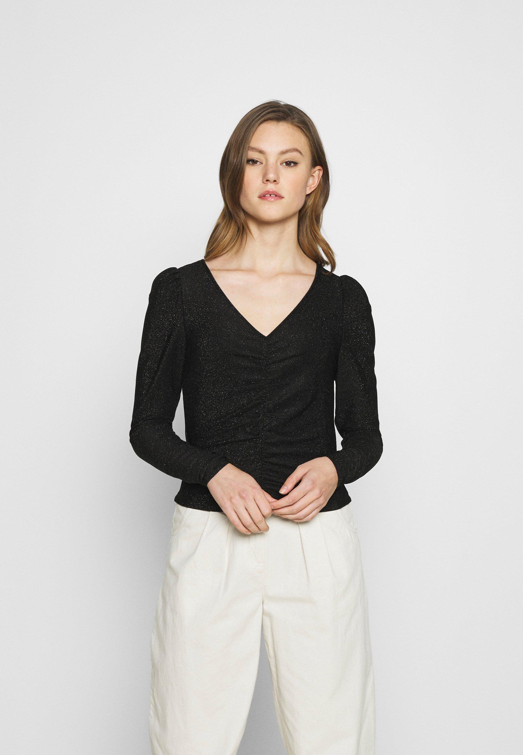 Women MAJLI - Long sleeved top - black