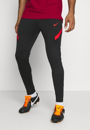 TÜRKEI DRY PANT - National team wear - black/habanero red/habanero red