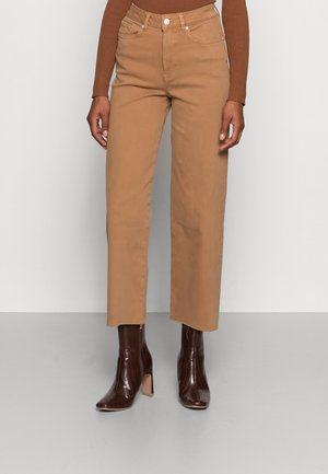 CULOTTE - Jeans Relaxed Fit - soft camel