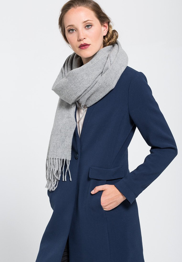 Filippa K - BLEND SCARF - Scarf - light grey melange