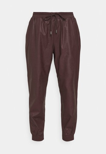 ONLMADY MWFAUX PANT - Trousers - fudge