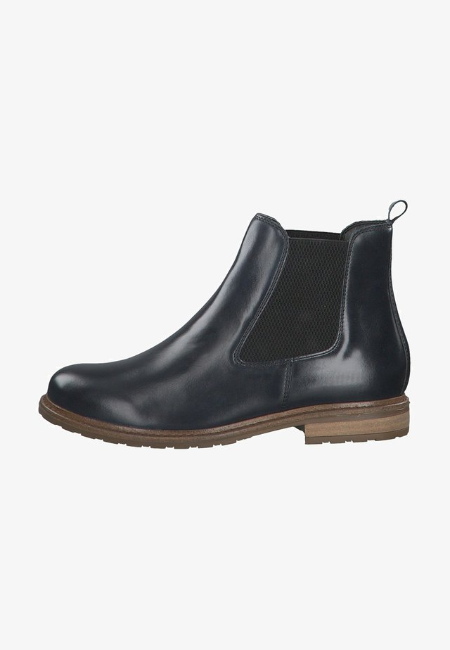 BOOTS - Bottines - navy leather