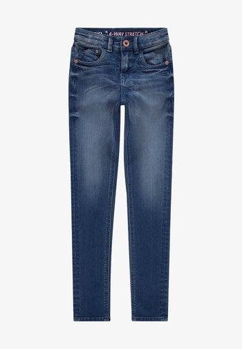 Skinny džíny - electric blue