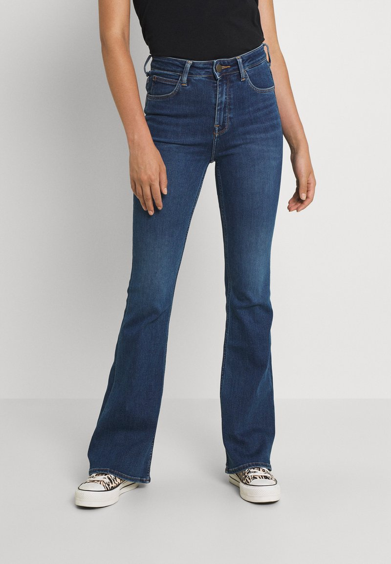Lee - BREESE - Flared Jeans - mid remi