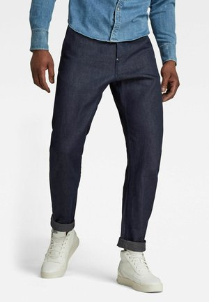 GRIP 3D RELAXED TAPERED - Relaxed fit -farkut - dark blue denim
