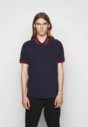 Polo shirt - dark blue/red