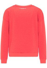 Frieda & Freddies - SWEATSHIRT MIT GLANZDETAILS - Sweatshirt - cherry red - 1