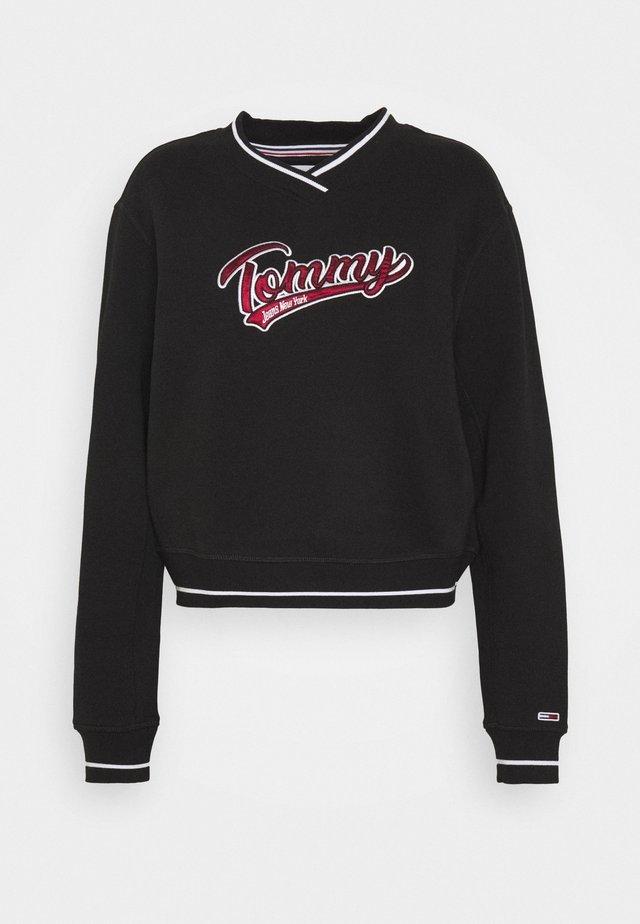 VNECK - Sweatshirt - black