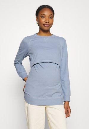 Sweatshirt - blue ash