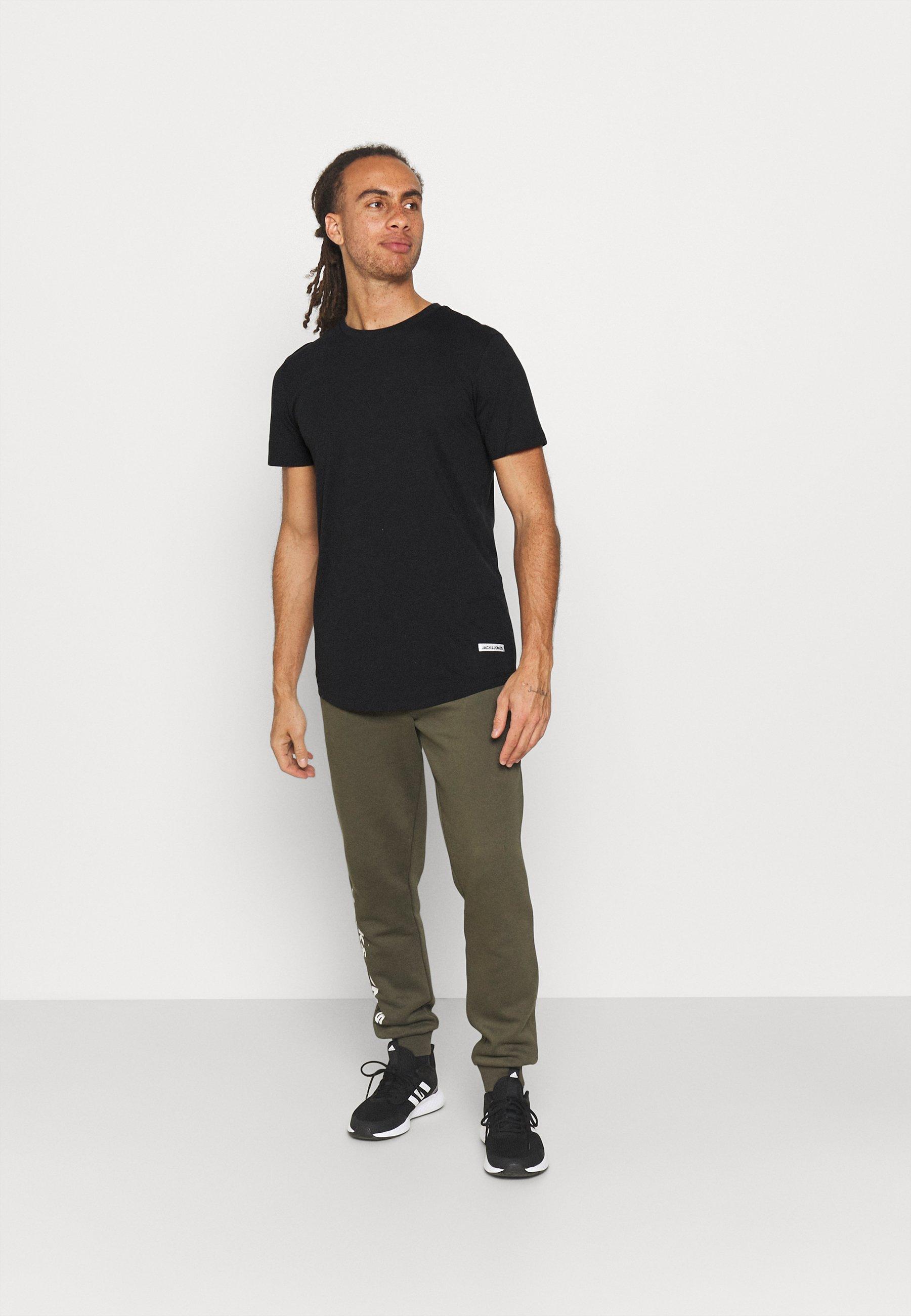 Herrer JCOZSPORT CURVED TEE 5 PACK - T-shirts basic