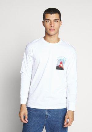 JCOVOLCANO - Långärmad tröja - white