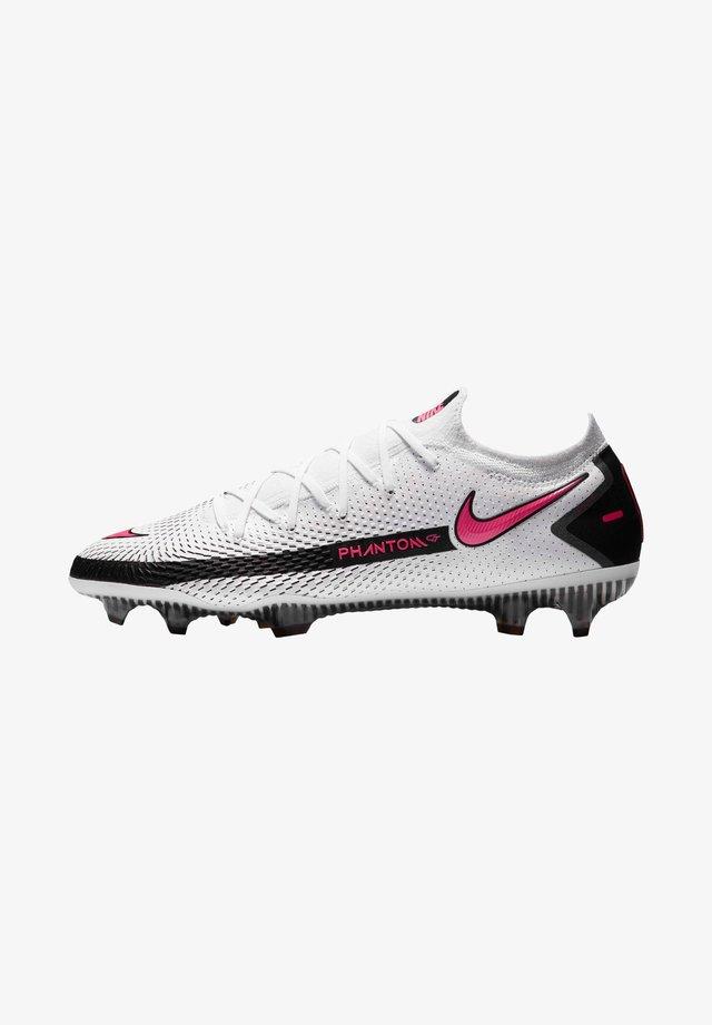 PHANTOM GT ELITE FG - Chaussures de foot à crampons - weiss/pink (979)