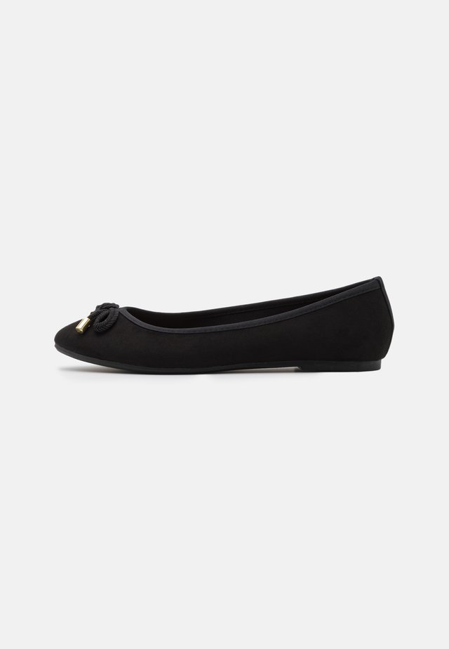 BOW - Ballet pumps - black