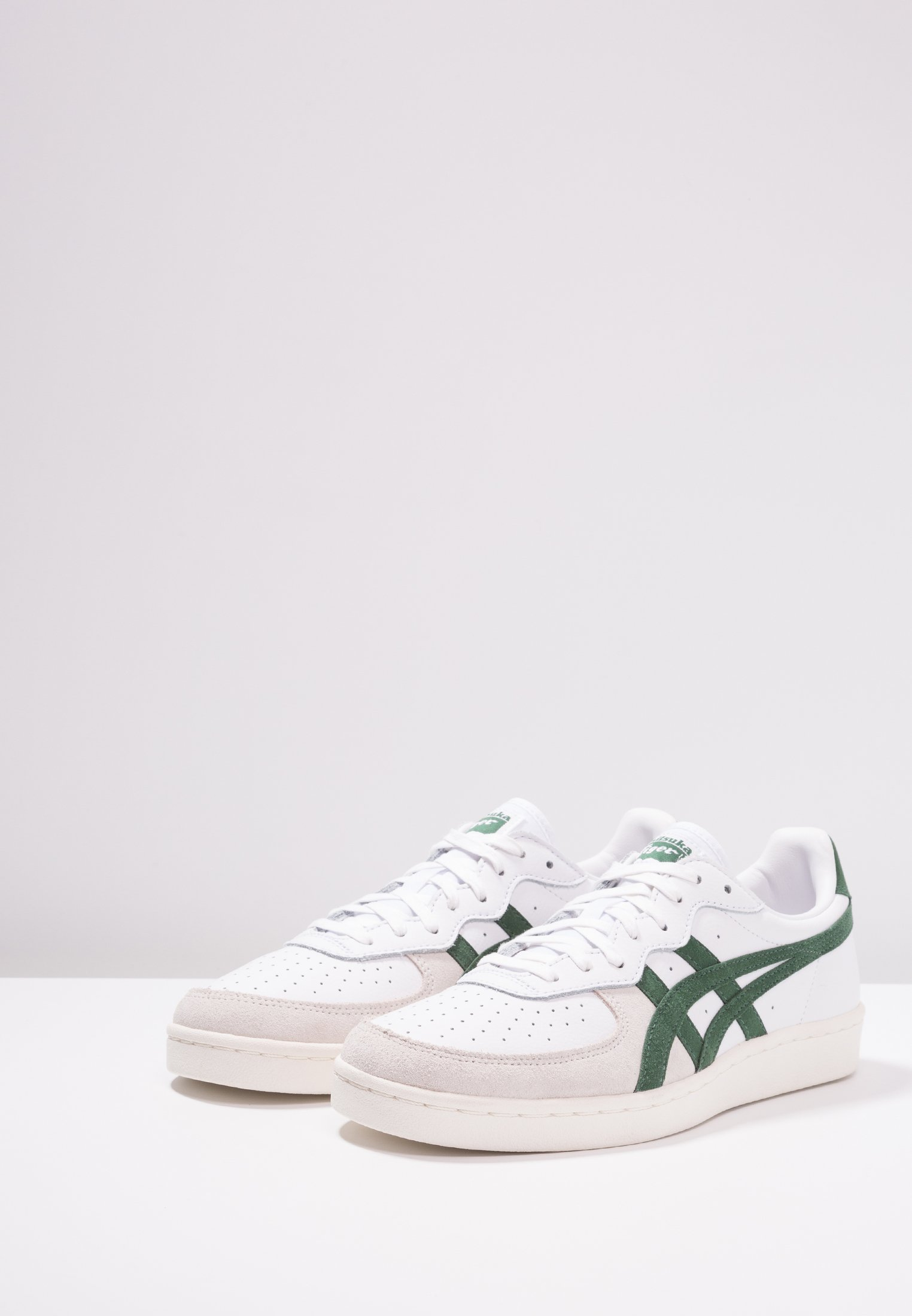 Onitsuka Tiger GSM - Sneaker low - white/hunter green/weiß - Herrenschuhe 9LUxU