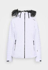 JACKET ZIP HOOD - Ski jacket - bianco