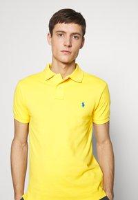 Polo Ralph Lauren - SHORT SLEEVE KNIT - Polo - yellow - 4