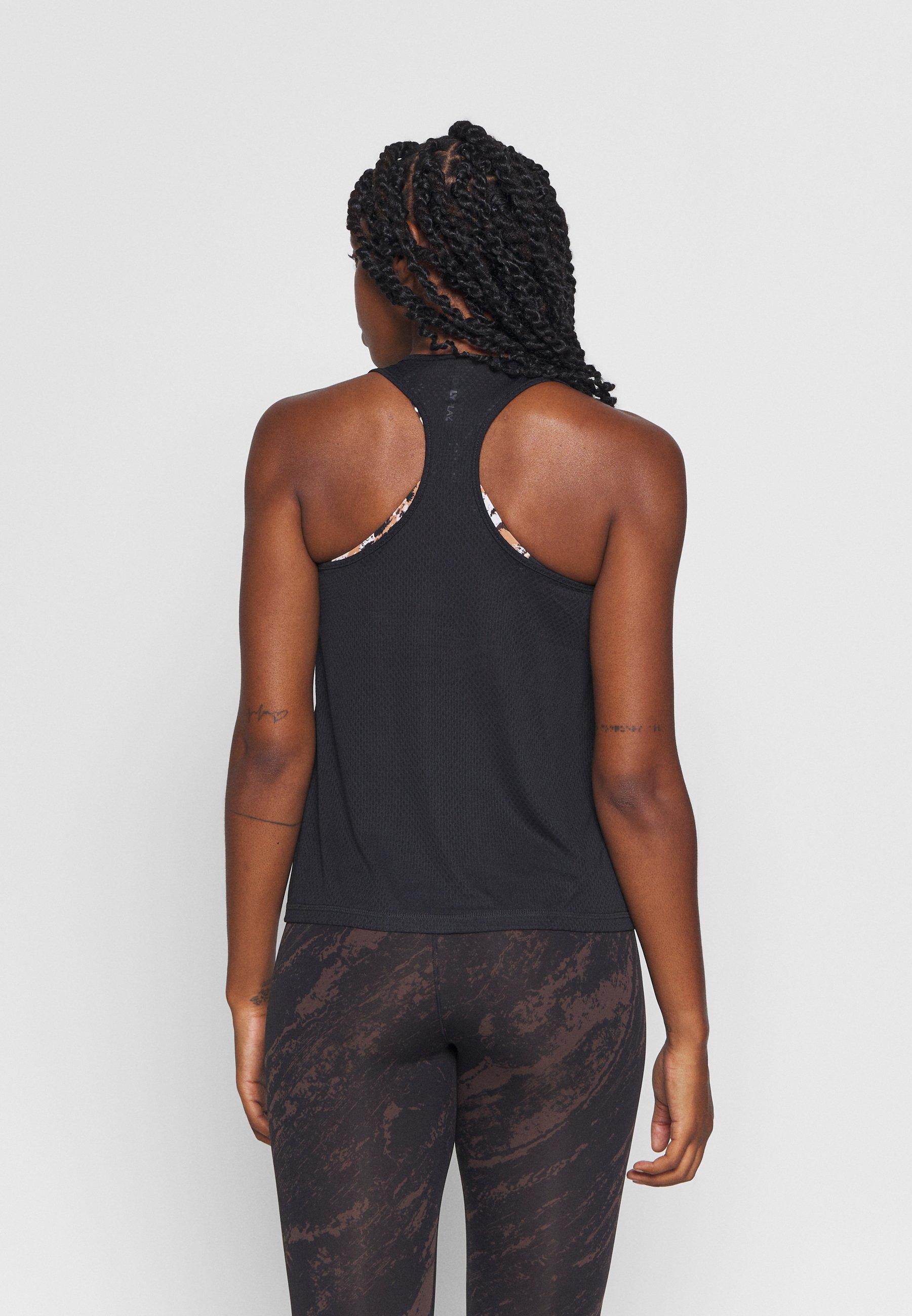 ONLY Play ONPSUL TRAINING - Sports shirt - black Zh4TS