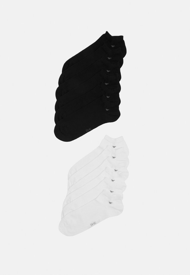 SNEAKER UNI BASIC 12 PACK - Chaussettes - white/black