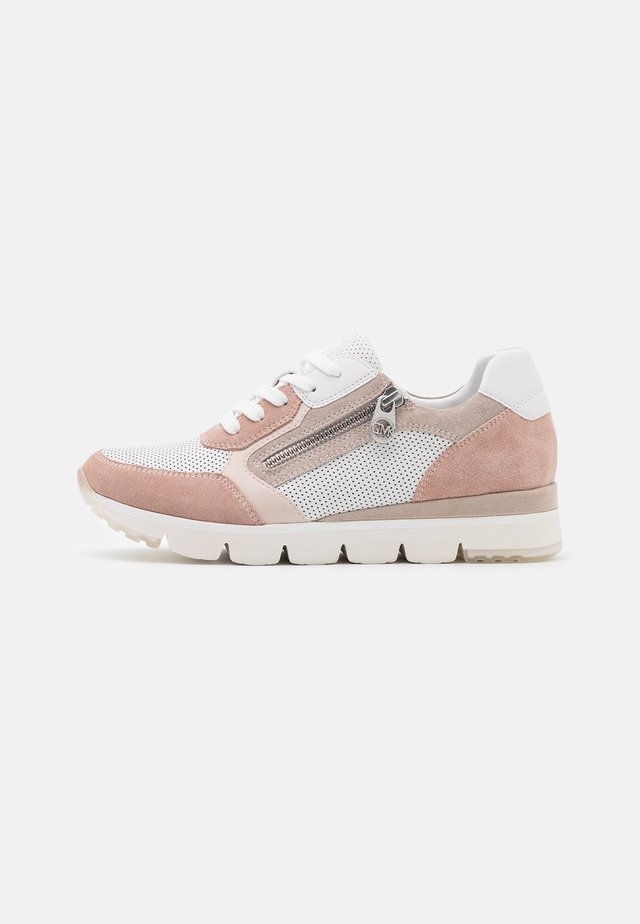 BY GUIDO MARIA KRETSCHMER - Sneakers basse - white/rose