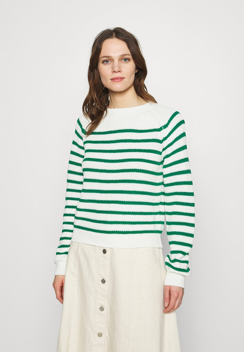 Soft Rebels - TAMMY O NECK  - Jumper - lush meadow