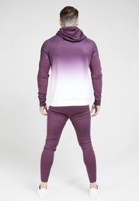 SIKSILK - ATHLETE HYBRID ZIP THROUGH HOODIE - Training jacket - rich burgundy - 2