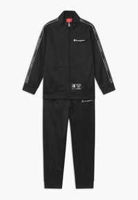 Champion - LEGACY FULL ZIP SUIT SET - Tracksuit - black - 0