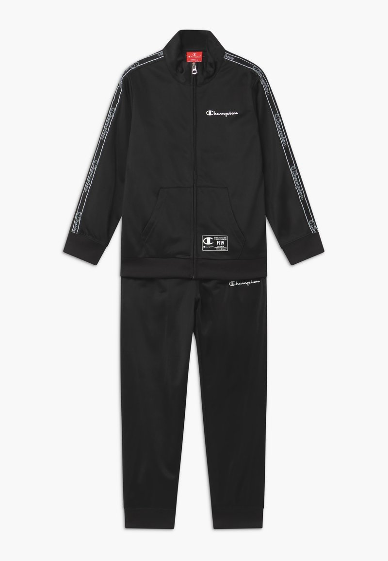 Champion - LEGACY FULL ZIP SUIT SET - Trainingspak - black