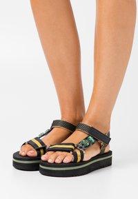 Kurt Geiger London - OLIVIA - Platform sandals - khaki - 0