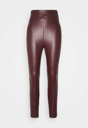 PRISCILLA - Leggings - Trousers - marmont red