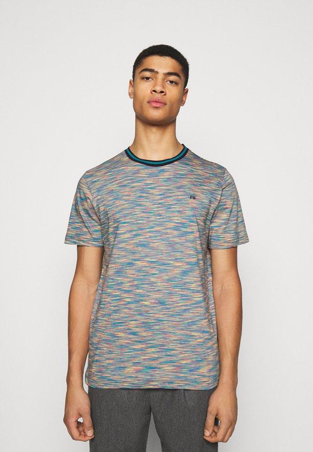 MENS REG FIT - T-shirt med print - multi