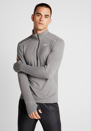 Sports shirt - smoke grey/heather/reflective silver