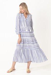 Indiska - YASMINA - Denní šaty - blue - 1