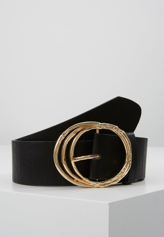 PCDEMA WAIST BELT  - Waist belt - black/gold-coloured