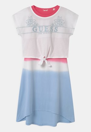 JUNIOR - Jersey dress - white