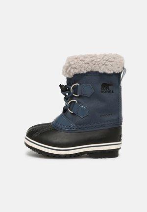 CHILDRENS YOOT PAC UNISEX - Winter boots - uniform blue/black
